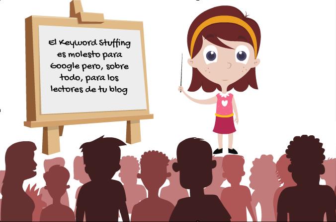 qué es keywords stuffing
