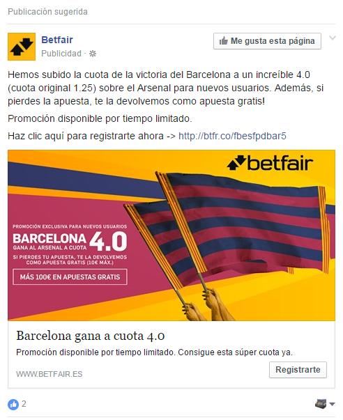 ejemplo anuncio facebook ads