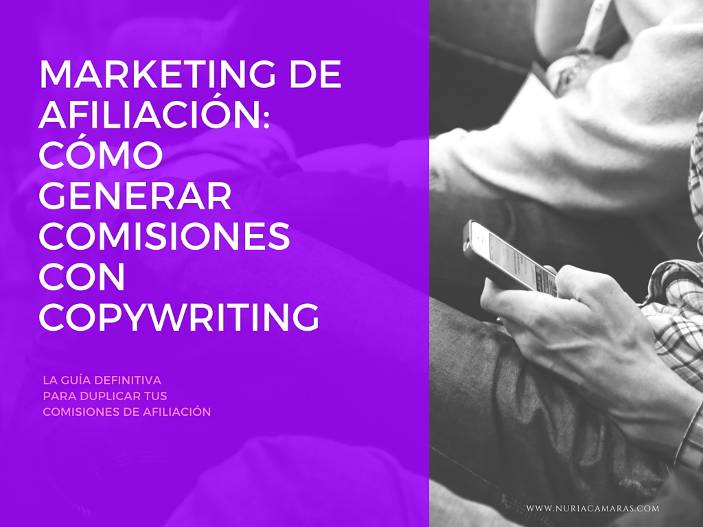 Marketing de Afiliación y Copywriting