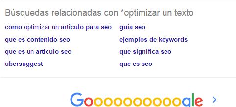 cómo optimizar un texto para Google