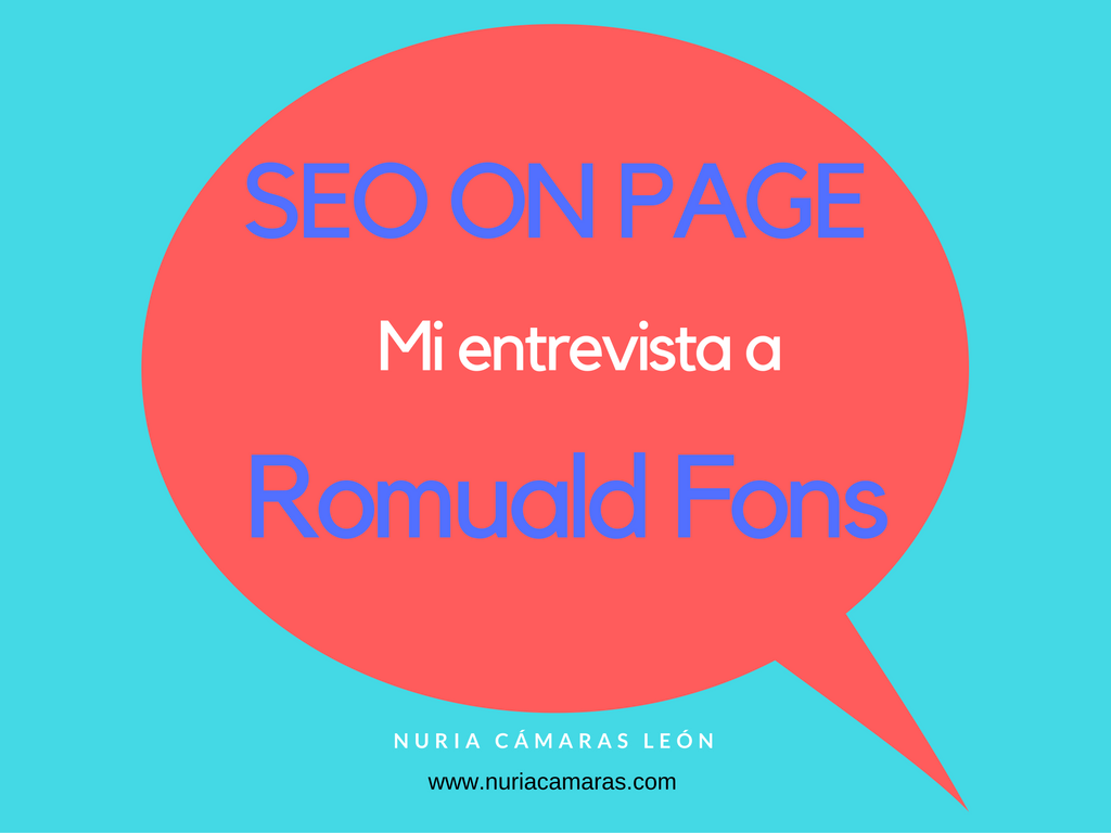 entrevista a Romuald Fons SEO on page