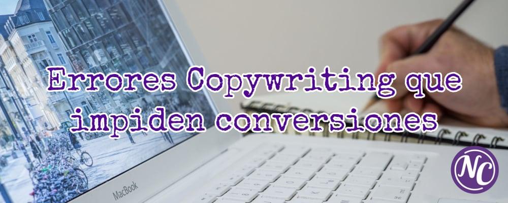 errores de copywriting