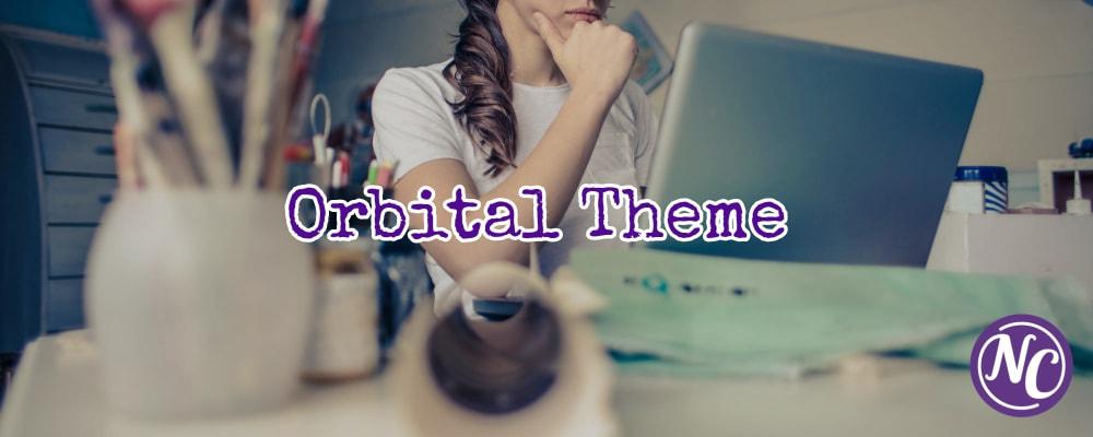 experiencia y opiniones con orbital theme para WordPress
