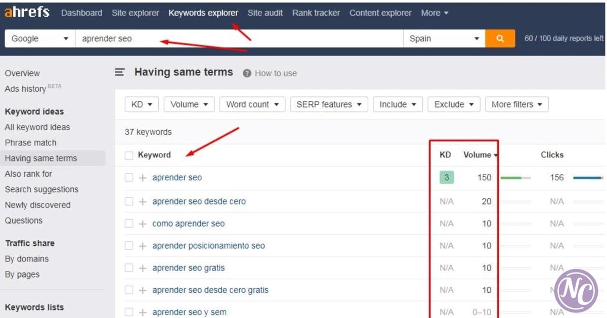 cómo hacer un keyword research SEO