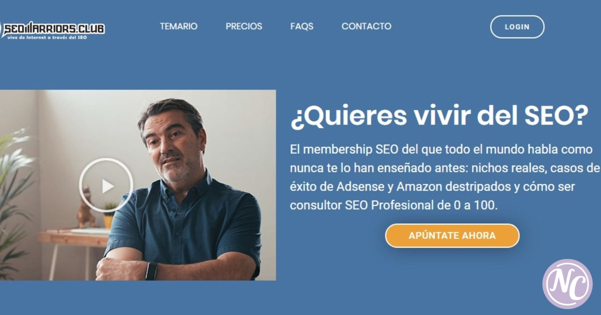 curso seo warriors de Dean Romero