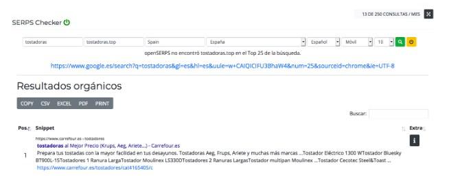 google serps checker