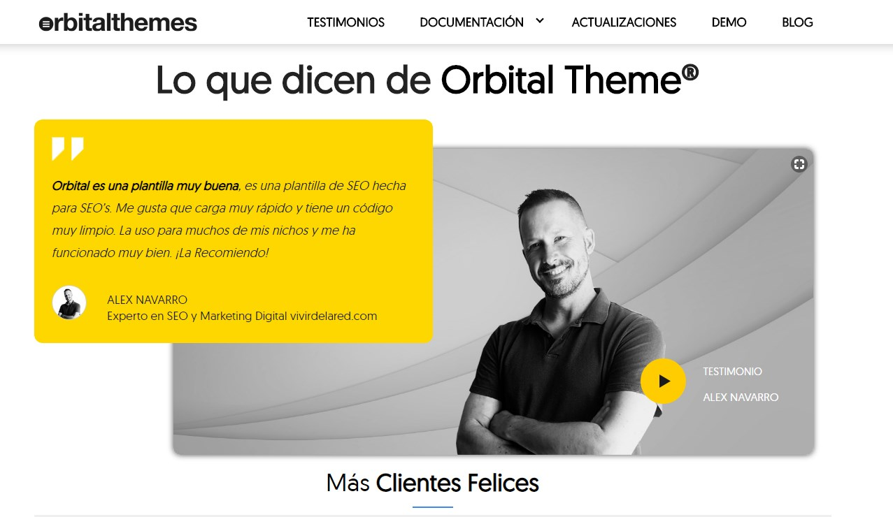 testimonios en marketing