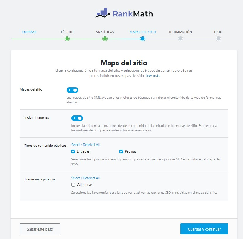 configurar rank math 4