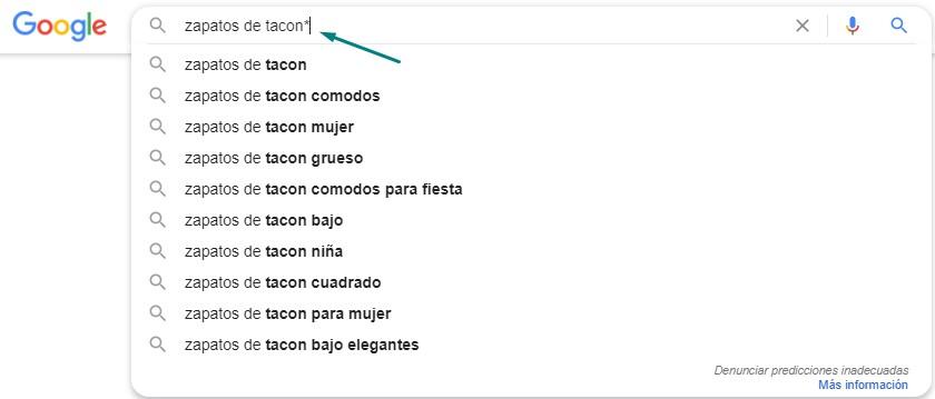 keyword research con google