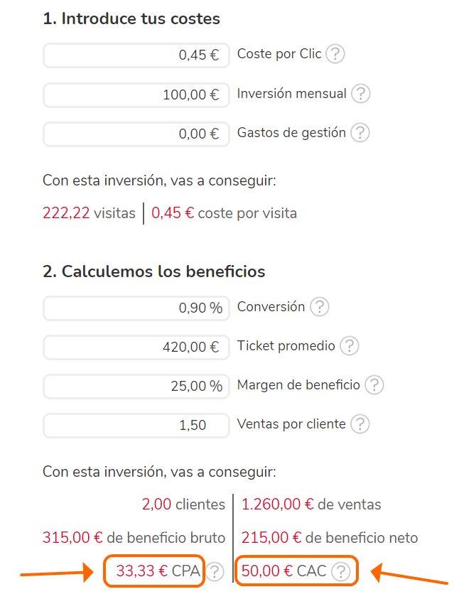 calculadora ROI nicho SEO local