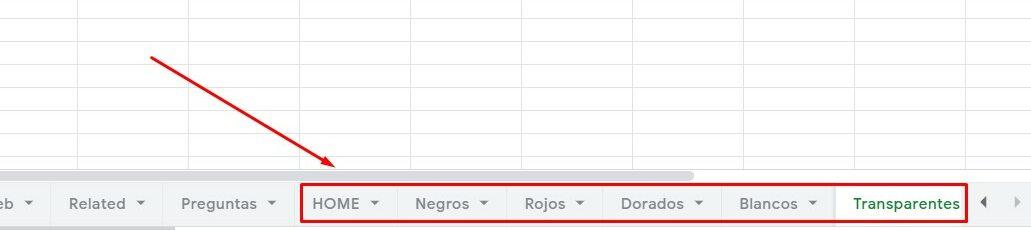 cómo hacer un keyword research en google sheets